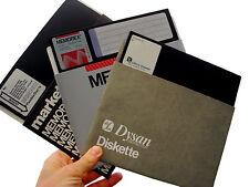 """Leere 5,25"""" Zoll Diskette HD 5 1/4 neu formatiert Floppy Disk"""