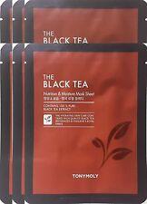 Tonymoly The Black Tea Nutrition & Moisture Mask Sheet   x 6 Sheets
