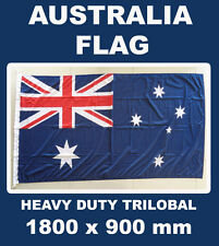 AUSTRALIAN HEAVY DUTY OUTDOOR FLAG LARGE TRILOBAL AUSTRALIA FLAG