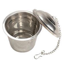 Tea Mesh 304 Stainless Steel Herbal Ball Infuser Tea Strainer Large Size New