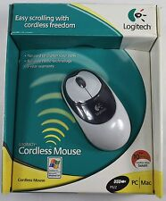 Logitech Cordless Mouse USB/PS2 Windows 95/98/NT/2000/ME or MAC OS 8.6 *or later