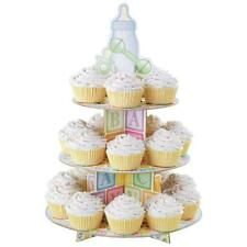 Wilton BABY FEET Cupcake Treat  Stand 3 Tier Holder Party Supplies Baby Shower