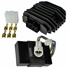CDI Box Regulator Rectifier Kit For Kawasaki KLF 300 B Bayou 1988 1989 1990 1991