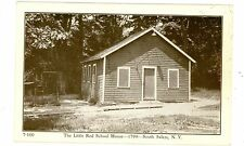 South Salem NY - THE LITTLE RED SCHOOL HOUSE-BUILT IN 1799 - Postcard