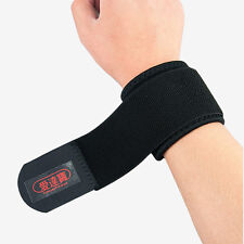 Sports Gym Elastic Wristband Wrist Joint Brace Support Wrap Band Guard Protector