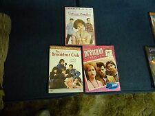 BREAKFAST CLUB/PRETTY IN PINK/SIXTEEN CANDLES DVD LOT OF 3 JOHN HUGHES