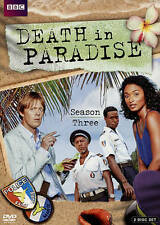 DEATH IN PARADISE: Season Three DVD, 2015, 2-Disc Set  NEW !!  FREE S/H !!