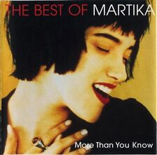 MARTIKA The Best Of Martika More Than You Know CD NEW Greatest Hits Toy Soldiers