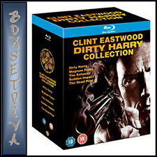 CLINT EASTWOOD DIRTY HARRY BLU RAY COLLECTION - NEW