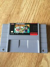 Super Mario All-Stars Super Nintendo Snes Cart Only Mario 1 2 3 Lost Levels NG5