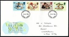 FDC - GB - 1984 The British Council 1934-1984 - First Day Cover
