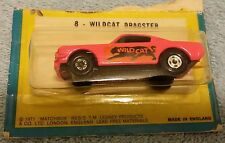 Matchbox 8 Pink Mustang Wildcat Dragster MOC BP MIP  1/64 Superfast Blister