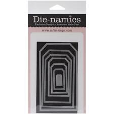 """FREE SHIPPING"" Die-namics Pierced Traditional Tag STAX Dies MFT-375 Card Making"