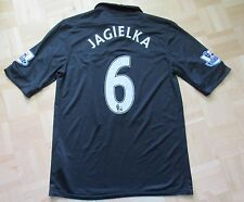 Phil Jagielka EVERTON LIVERPOOL #6 Away shirt by NIKE 2012-2013 /men/black M