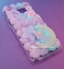 Sailor Moon pastel kawaii decoden cell phone case for Samsung Note 5 anime