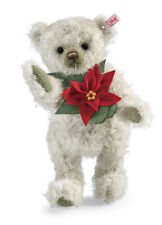 Poinsettia Teddy Bear by Steiff - EAN 035463