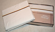 100% Organic Cotton T180 Percale King Valentines Sheet Set with 3 Colored Piping