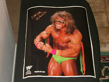"ULTIMATE WARRIOR POSTER 16"" X 20"" WWF WWE STEVE TAYLOR PHOTO RARE"