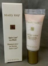 NIB Full Size Mary Kay Satin Lips Mask Tube Exfoliate New MK Bonus Skin Samples