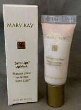 NIB Full Size Mary Kay Satin Lips Mask Tube Exfoliate New MK Bonus Skin Samples