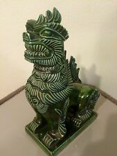 Vintage Arnels Ceramic Asian Foo Dog Shisa Lion Shi Shi Dog Statue
