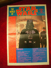 """The World Of Star Wars"" K 49472 Issue 2. 1981. Large Magazine Of Star Wars Info"