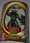 "LORD OF THE RINGS LOTR EASTERLING WARRIOR 6"" MOC TOYBIZ VINTAGE HALF MOON RARE"