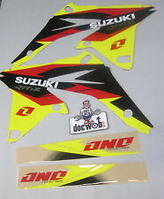Suzuki RMZ250 2010-2016 One Industries Delta kühler abdeckung grafik kit 1G16