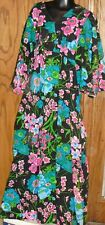 Vintage SEARS The Great Entertainers Lounge Kimono floral Dress Gown