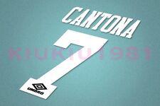 Manchester United Cantona #7 1992-1996 Homekit Nameset Printing