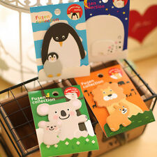 Cute Mini Animal Memo Sticker Bookmark Index Tab Pads Flags Sticky Notes