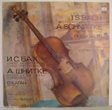 Oleg Kagan - violin, Schnittke: Concerto No. 3/ Bach: Concerto No. 1 LP MINT