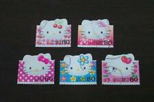 Japan 2004 G9 HELLO KITTY stamps 5v USED