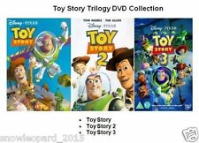 TOY STORY TRILOGY DVD TRIPLE PACK PART 1 2 3 GENUINE Walt Disney Sealed New
