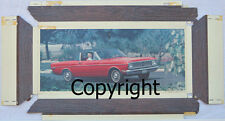 Dealership Showroom Promo Poster 1968 Ford Falcon Futura Sports Coupe 200/302 V8