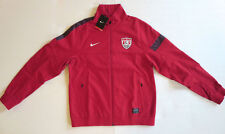 NIKE Team USA National Sideline Soccer Futbol Jacket Red Navy Blue 527778 Men XL