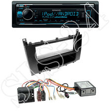 Kenwood KDC-300UV USB/CD Radio + Mercedes C-Klasse (W203) + ISO Adapter Set