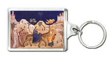 GIOTTO DI BONDONE 1310 THE FLIGHT INTO THE EGYPT KEYRING LLAVERO