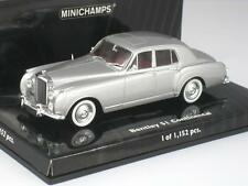 BENTLEY S1 CONTINENTAL 1956 SILVER 1:43 MINICHAMPS 436 139552 NEW MODEL