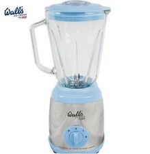 Walls Multi Blender 1.5ltr Blue Ice Crashing Blades Non-Slip Feet 4 Recipe Card