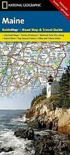 National Geographic GuideMap ME Maine Road Map & Travel Guide GM01020482