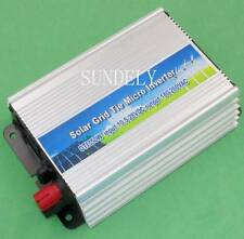 Pure Sine Wave 350W Solar Grid Tie Inverter 10.5-28V DC f 12V Solar Panel New