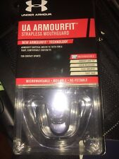 Under Armour Youth Strapless Mouthguard  New Age 11 And Under Black
