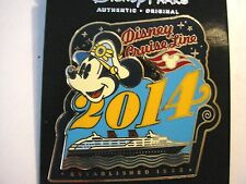 Disney Cruise Line  Captain Mickey 2014 with Ship Pin
