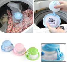 New Polyester Washing Machine Floating Lint Mesh Pouch Filter Bag Laundry Bags