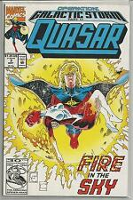 Quasar , Vintage Marvel comic book #3 from May 1992