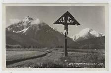 AK Innsbruck, Morgenstimmung bei Igls, Kreuz, 1943 Foto-AK
