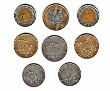 Lot of 8 Hungarian Coins