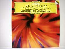 RAVEL- BOLERO Barenboim/Orechestre De Paris Digital Stereo 2532-041 LP