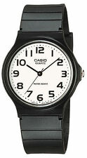 Casio MQ24-7B2 Men's Resin Band Casual White Numbers Index Dial Analog Watc